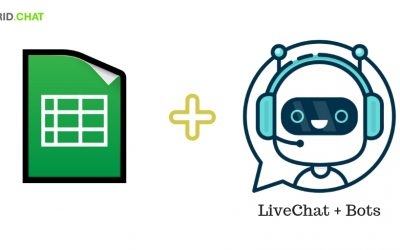 Chatbots can now Read / Write into any Google Spreadsheet – New Feature launch