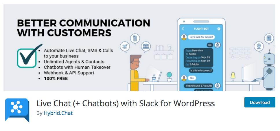 WordPress Plugin for Hybrid.Chat