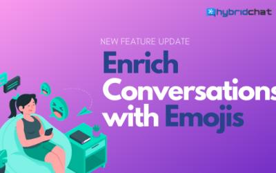 Emoji Feature for Enriching Conversations