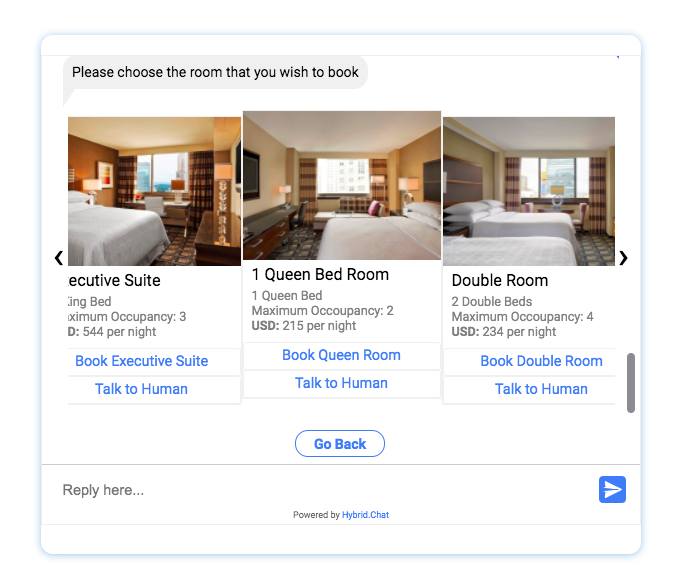 Chatbot in Hospitality