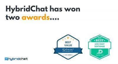 HybridChat Wins Two Awards: Best Value and Best Live Chat Software